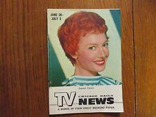 Jun-1955 Chicago Daily TV News Mag(JEANNIE CARSON/CAROL LAWRENCE/RICHARD DIAMOND