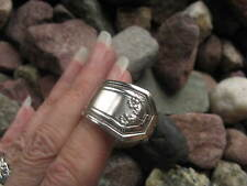 Classic Antique Spoon Ring  R342 Size 11.75 Western Skies Silver
