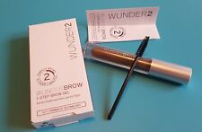 RRP £20 Brand New WUNDER2 WUNDERBROW Extra Long-Lasting Eyebrow Gel Black/Brown