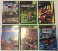 Original XBox Assorted Game Bundle Lot Of 6 Tested Working