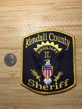 Kendall County Illinois Sheriffs Department Auxiliary Reserve Police Patch Il