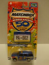 Matchbox Across America 50th Birthday Series Pennsylvania Police Tahoe 1:64 25-3