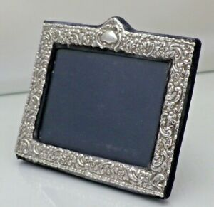 Vintage Sterling Solid Silver Photograph Frame 17cmx14.5cm Outer  (1954/D/LSY)