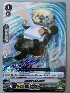 CARDFIGHT VANGUARD STAMP SEA OTTER (GREAT NATURE GRADE 1) V-PR/0113EN FOIL