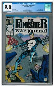 Punisher War Journal #1 (1988) Key 1st Issue Marvel Comics CGC 9.8 JZ250