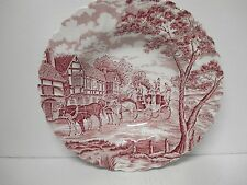 Myott Royal Mail Red Soup Bowl