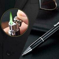 Kugelschreiber Form Winddicht Gasfeuerzeuge Einstellbare Herren Geschenk T4 Y6J2