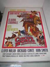CIRCUS WORLD JOHN WAYNE (1965) US AUTHENTIC ORIGINAL 27x41 MOVIE POSTER (468)