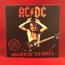 "AC/DC Highway To Hell 1992 UK 7"" vinyl single EXCELLENT CONDITION 45 live"