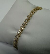 14k Diamond 1.3tcw Tennis Bracelet 6.5""