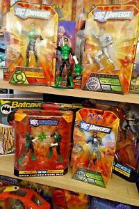 DC Universe Classics GREEN LANTERN HAL JORDAN Action Figure Lot Abin Sur NIB