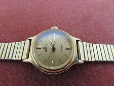 Vintage Ladies Fully Working Lorus Wristwatch Adjustable Size Metal Strap