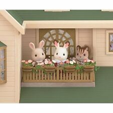 Epoch Sylvanian Families house nice house of green hills Ha35 Japan new.