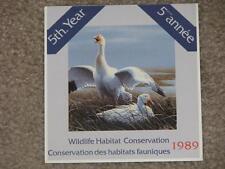 Canada -Duck, 1989 Wildlife Habitat Conservation Stamp