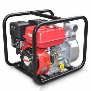 Benzin Schmutzwasserpumpe Wasserpumpe Hecht 3635 Motorpumpe Teichpumpe Pumpe