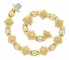 Penny Preville 18k Yellow gold Bracelet 7.25 Inch Plus 2 Inch Extender