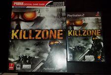 Killzone Playstation 2 Black Label Sealed Brand New BONUS GUIDE