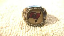 2003 Gold plated Tampa Bay Buccaneers Team collectors ring Size 11