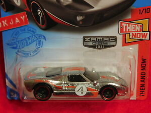 2021 Hot Wheels ~ GUMBALL 3000 ~ THEN AND NOW #1/10 ~ ZAMAC #004 ~ Ford GT-40