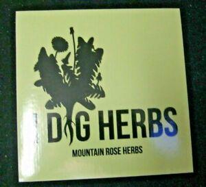 Mountain Rose Herbs Eugene Oregon I Dig Herbs Sticker