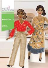 Paper Dolls Anita Goodesign Embroidery Machine Design CD NEW