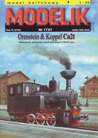 ORIGINAL PAPER-CARD MODEL KIT - ORENSTEIN & KOPPEL Cn2t