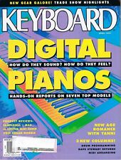 1991 KORG C-7000 Bachmann 400 Technics SX-PX66, Roland HP-3700 Keyboard Magazine