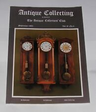 ANTIQUE COLLECTING SEPTEMBER 1983 - TURKOMAN AND OTHER TRIBAL WORK