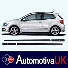 Volkswagen VW Polo 3D Mk5 Rubbing Strips | Door Protectors | Side Mouldings Kit