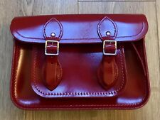 11 inch Magnetic Cambridge Satchel Company bag in Patent Leather - Red