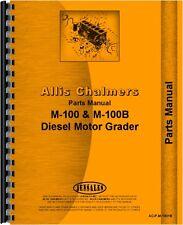 Allis Chalmers M-100 M-100B Motor Grader Parts Manual (AC-P-M-100+B)