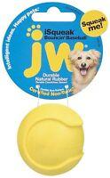 JW Pet iSqueak Bouncin' Baseball Rubber Dog Toy - Medium Random Colors