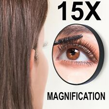 🔥New 15X Magnifying Mirror Vanity Compact Travel Make Up Beauty Cosmetic Zoom