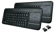 2(Two) of Logitech K400 Black Wireless Touch Keyboard K400r Touchpad