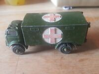 Dinky Military Ambulance Red Cross Army Truck