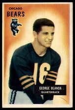 1955 Bowman #62 George Blanda Bears EX/NM