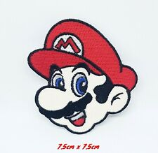 Super Mario Iron On-Sew On-Badge Embroidered Patch Fancy Dress#845