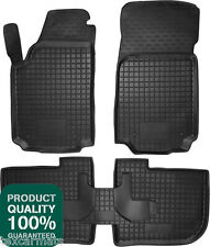 Rubber Car Floor Mats All Weather Fully Tailored fit Audi A6 C4 1994-1997