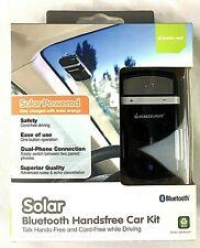 IOGEAR Solar Powered Bluetooth Handsfree Speakerphone Car Kit  Model GBHFK231