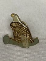 Vintage Bald Eagle Pinback New Old Stock Pin
