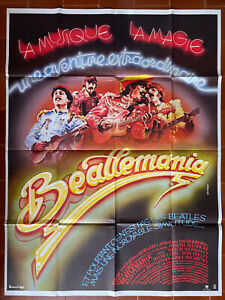 Poster Beatlemania Joseph Manduke Beatles David Leon Tom Teeley 47 3/16x63in