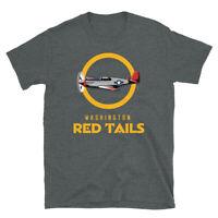 Military Pilots Black History Washington Red Tails Short-Sleeve Unisex T-Shirt