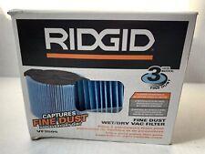 (1) RIDGID VF3500 FINE DUST FILTER for WD4050 WET DRY VAC VACUUM, GENUINE, NEW