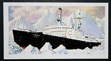 LENIN  Soviet  Ice Breaker     Nuclear Powered Ship     Colour Card  ##  VGC