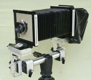 "Sinar P 4x5"" Large Format Monorail Camera Schneider Symmar-S 5.6/150 Lens Copal"