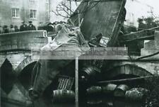 "Trowbridge 1923 Ushers Sentinel Accident on the Bridge 6 x 4"" Print - Wiltshire"
