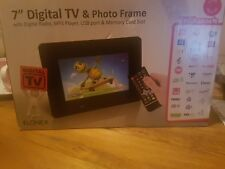 "Elonex 7"" Digital Photo Frame with built in Freeview TV PF9501"