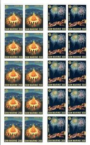 S34632 DEALER STOCK  SAN MARINO 1981  MNH**  Europa CEPT folklore 2v X 10 SETS