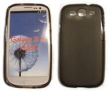 Schutzhülle Samsung GalaxyS3GT-I9300 Hülle Skin Cover Silikon Braun-Transparent