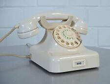 Krone W48 Bakelit Wählscheiben Telefon Elfenbein revidiert VW Glinicke 50er J.